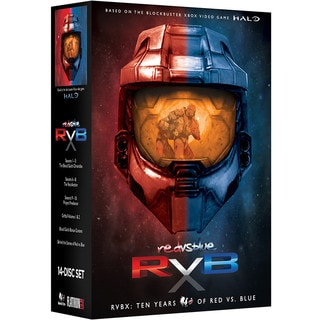 RVBX: Ten Years of Red Vs. Blue (DVD)
