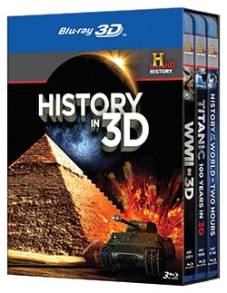 History in 3D (Blu-ray Disc)