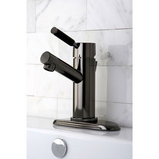 Black Nickel Single Handle Bathroom Faucet