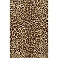 Animal Prints Leopard Gold Non-Skid Area Rug (5' X 7')