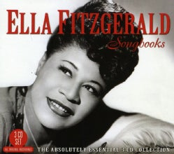 ELLA FITZGERALD - SONGBOOKS-THE ABSOLUTELY ESSENTIAL 3CD COLLECTION