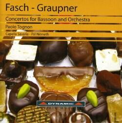 FASCH/GRUPNER - CONCERTOS FOR BASSOON & ORCHESTRA