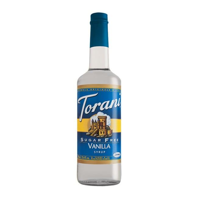Torani Sugar Free Vanilla Syrup (Case of 12)