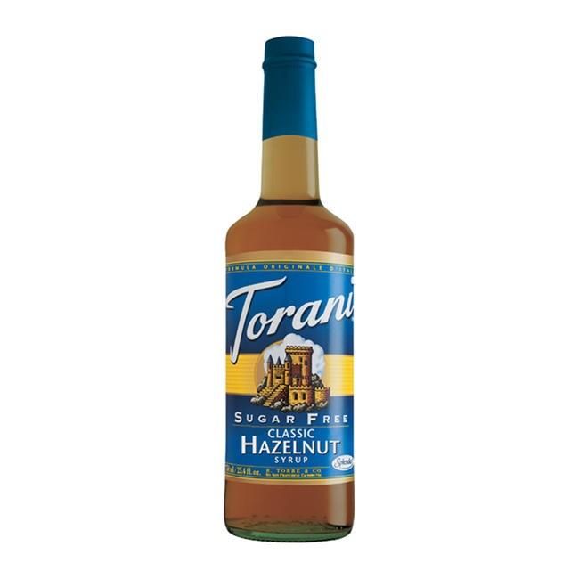 Torani Sugar Free Classic Hazelnut Syrup (Case of 12)