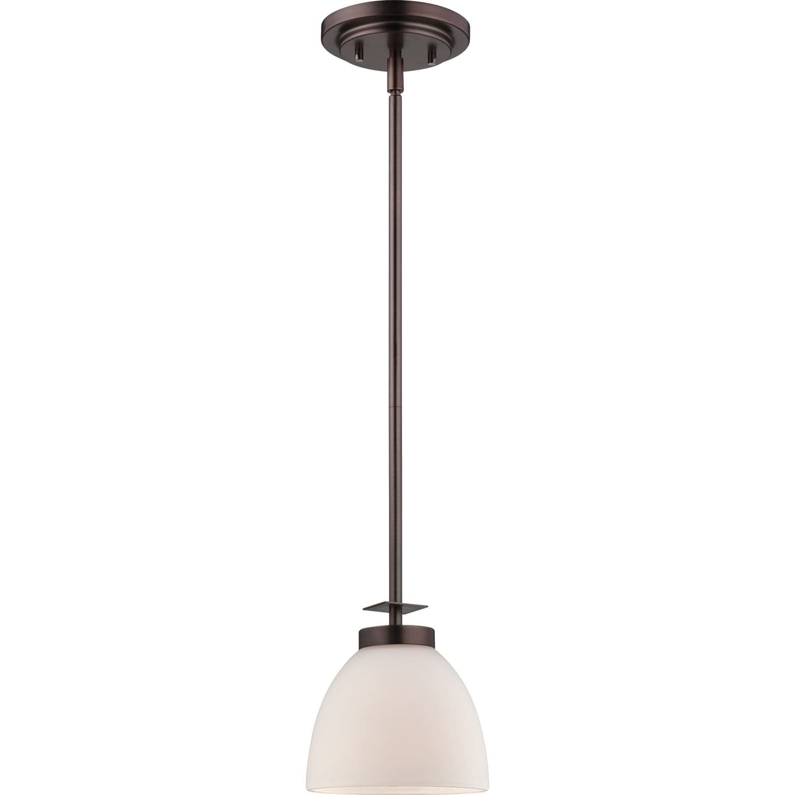 Nuvo Bentley 1-light Hazel Bronze Mini Pendant