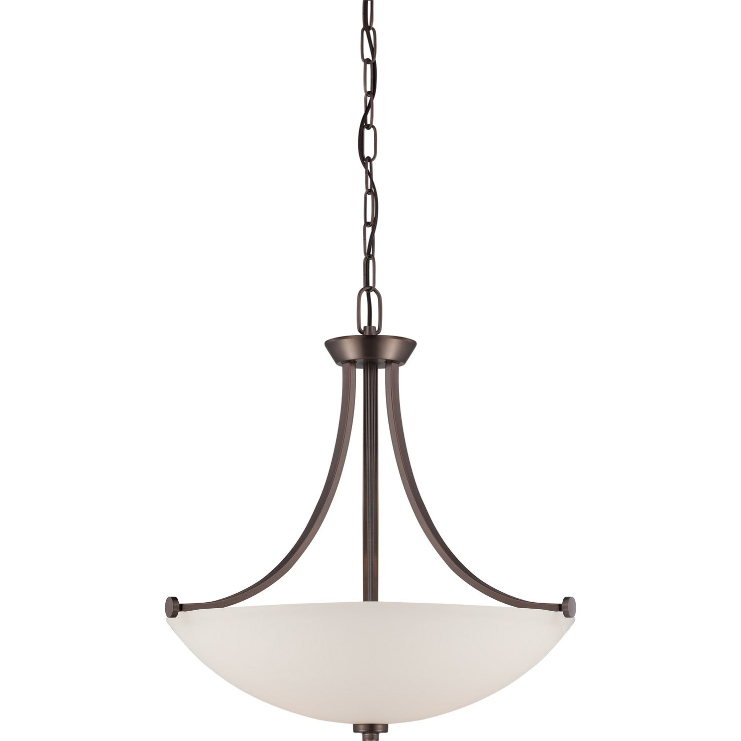 Nuvo Bentley 3-light Hazel Bronze Pendant