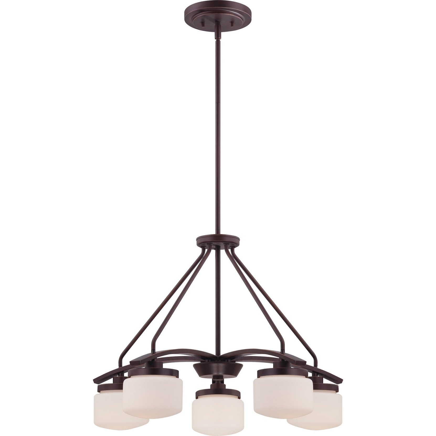 Nuvo Austin 5-light Russet Bronze Chandelier