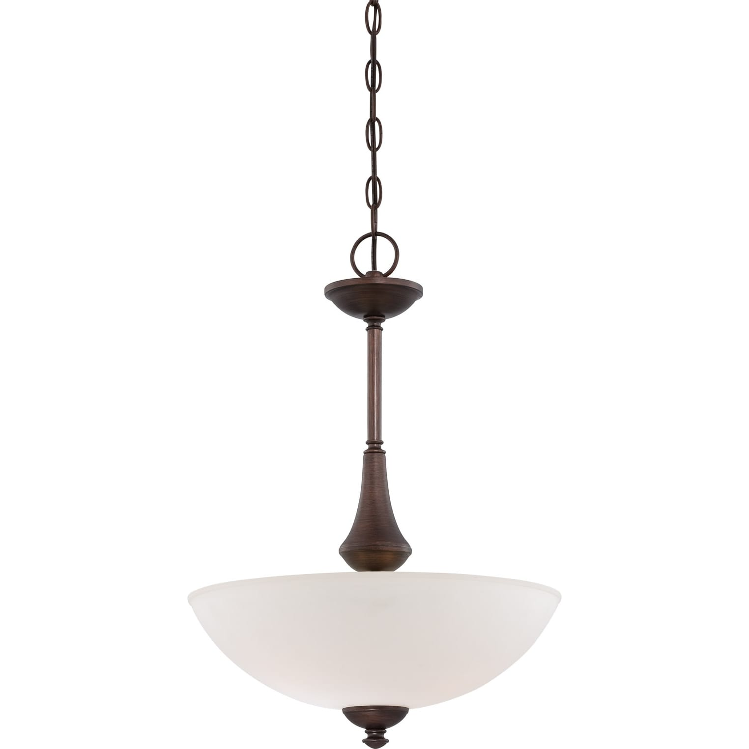 Nuvo Patton 3-light Prairie Bronze Pendant