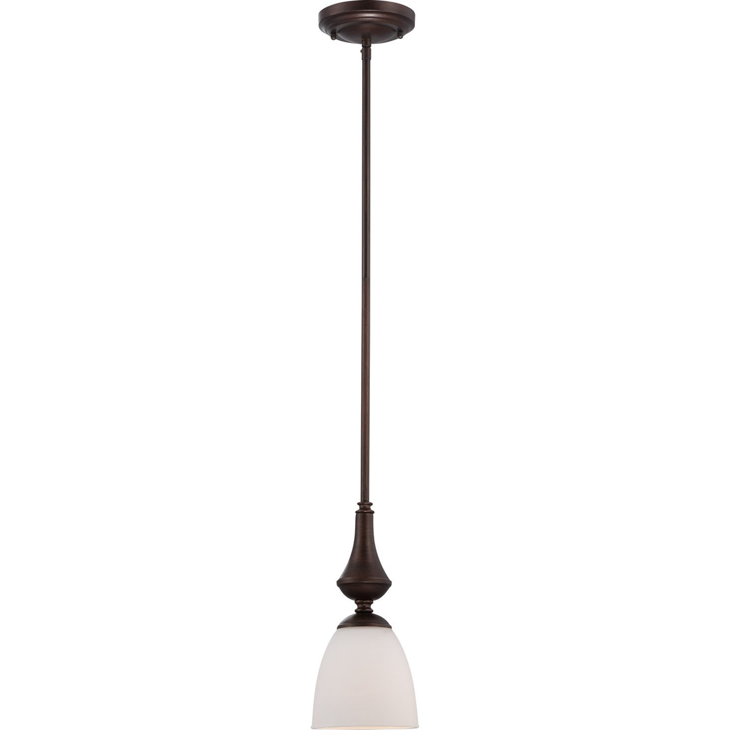 Nuvo Patton 1-light Prairie Bronze Fluorescent Mini Pendant