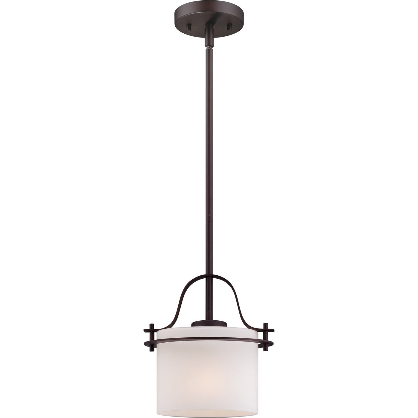 Nuvo Loren 1-light Venetian Bronze Mini Pendant