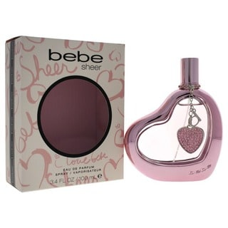 Bebe Sheer Women's 3.4-ounce Eau de Parfum Fruity Fragrance Spray