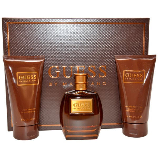 Guess by Marciano Men's Three-piece Spicy Fragrance Gift Set