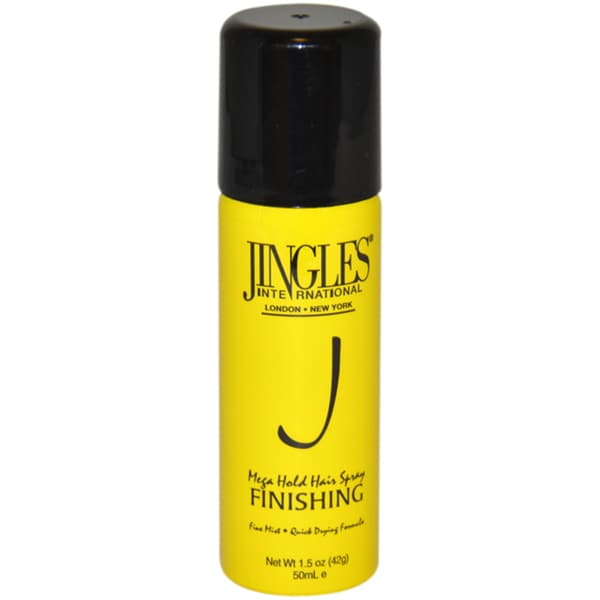 Jingles Mega Hold 1.5-ounce Hair Spray