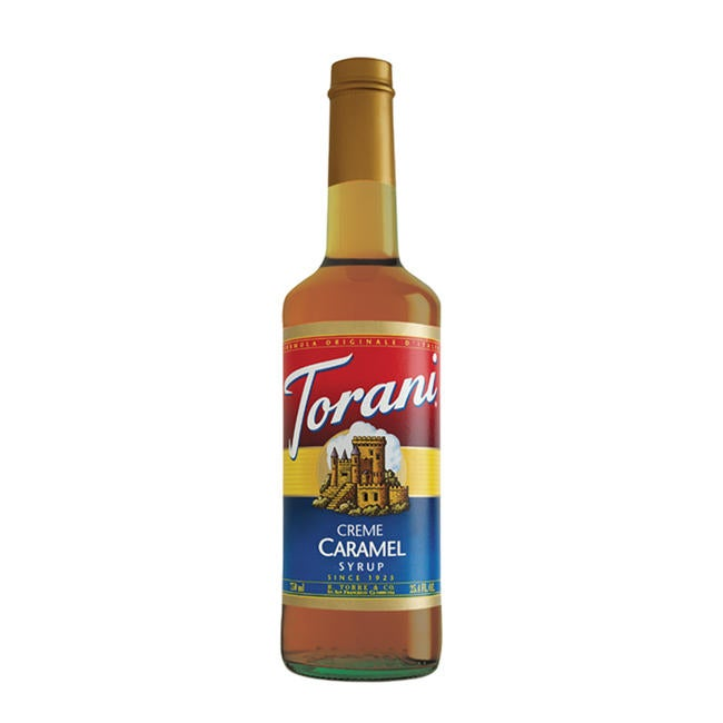 Torani 750-mL Creme Caramel Syrup (Case of 12)
