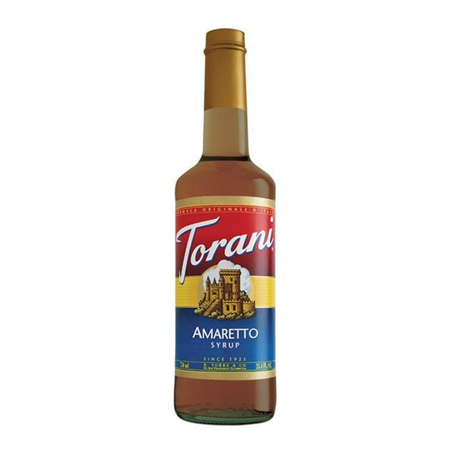 Torani 750-mL Amaretto Syrup (Case of 12)