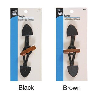 Small Toggle (Option: Brown)