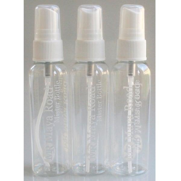Maya Mist 2 Ounce Mister Pump Spray Bottles 3/Pkg-Empty