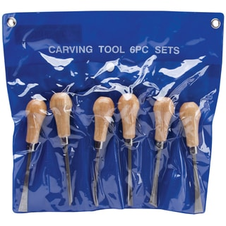 Palm Style Deluxe Woodcarving Set-