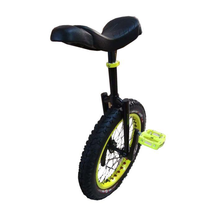 XTP Fluo Yellow 20-inch Unicycle
