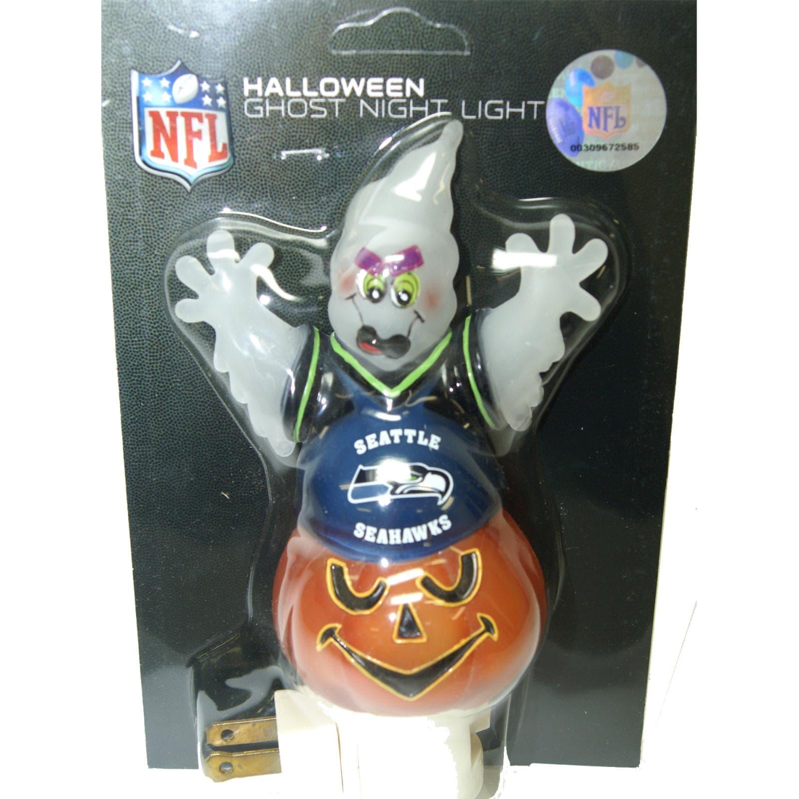 Seattle Seahawks Halloween Ghost Night Light