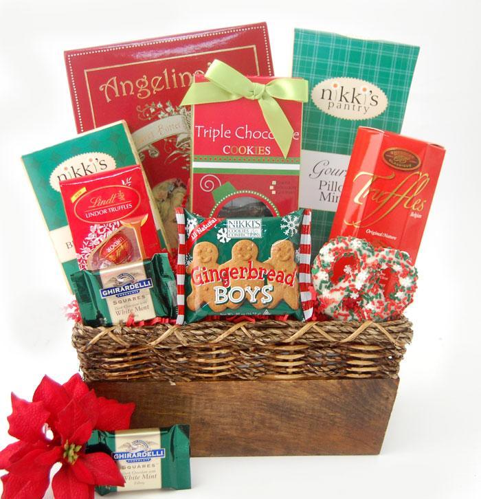 Nikki's Holiday Treats Gift Basket
