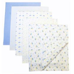 Piccolo Bambino Cotton Receiving Blankets (Pack of 5) - Thumbnail 1