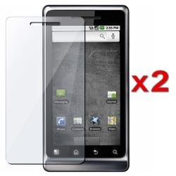 Screen Protector for Motorola A955 Droid 2 (Pack of 2)