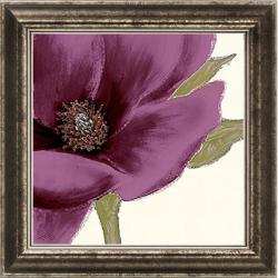 Wood 'Grandiflora Blush I' Embellished Framed Art Print