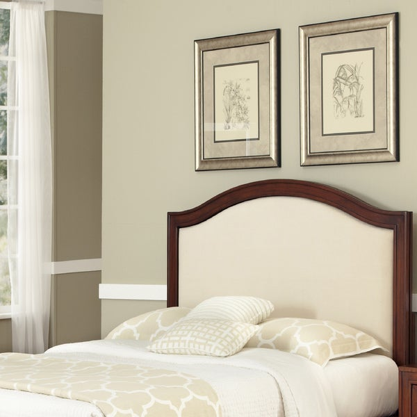 Duet King/California King Microfiber Inset Headboard by Home Styles