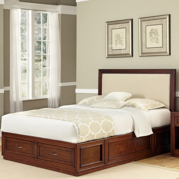 Queen Platform Bed by Home Styles