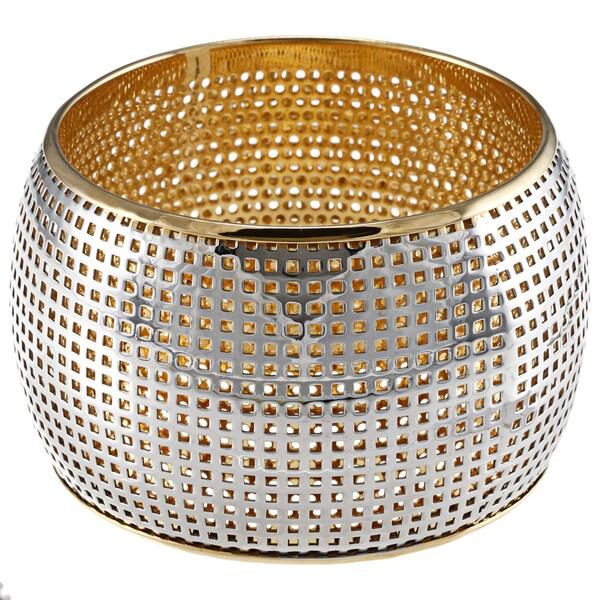 Stainless Steel Mesh Bangle Bracelet