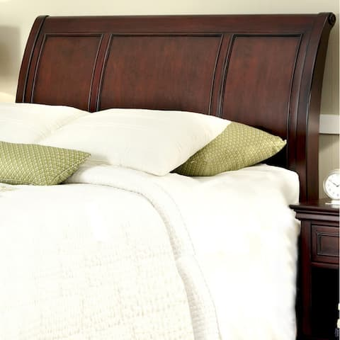 Home Styles Cherry-finished Mahogany King/California King Sleigh Headboard