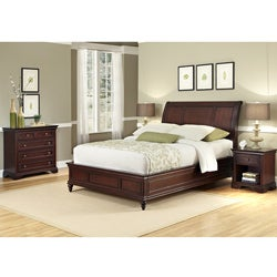 Home Styles King Sleigh Bed Set