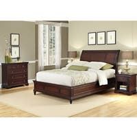 King Sleigh Bed Set by Home Styles