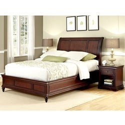 Home Styles Lafayette King Bed and Night Stand