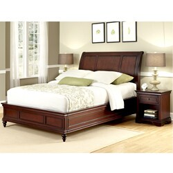 Lafayette King Bed and Night Stand by Home Styles