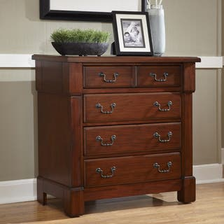 The Aspen Collection Mahogany Drawer Chest By Home Styles