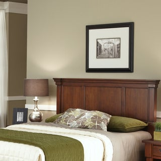 Gracewood Hollow Marquez Rustic Cherry Queen/Full Headboard