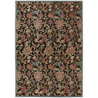 Nourison Graphic Illusions GIL06 Floral Area Rug