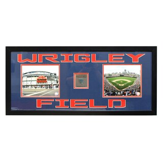 Chicago Cubs Wrigley Field Game-Used Frame