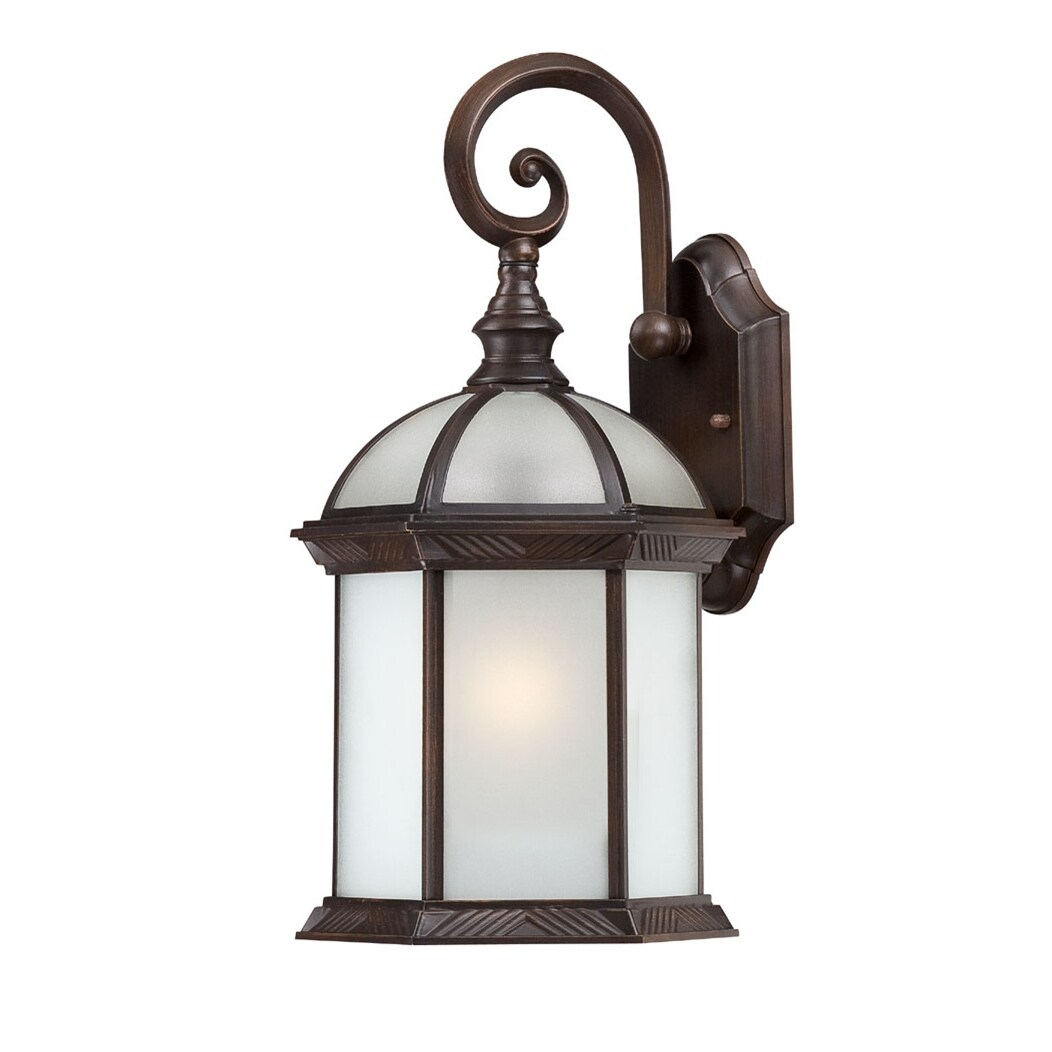 Nuvo Boxwood 1-light Rustic Bronze 16-inch Wall Sconce - Free Shipping Today - Overstock.com ...