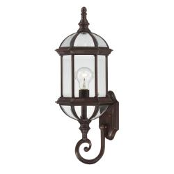 Nuvo Boxwood 1-light Rustic Bronze 22-inch Wall Sconce