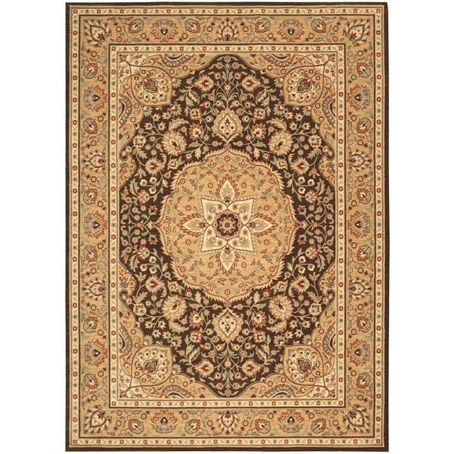 Arabesque Easton Cocoa Wool Rug (2' x 2'9)