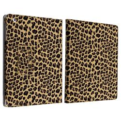 INSTEN Yellow Leopard Leather Tablet Case Cover/ Crystal Tablet Case Cover for Apple iPad 2/ 3/ 4 - Thumbnail 1