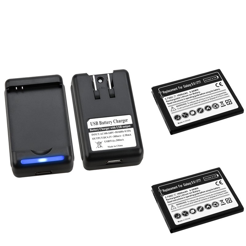 INSTEN Li-Ion Battery/ Desktop Charger for Samsung Galaxy S II/ S2 i9100