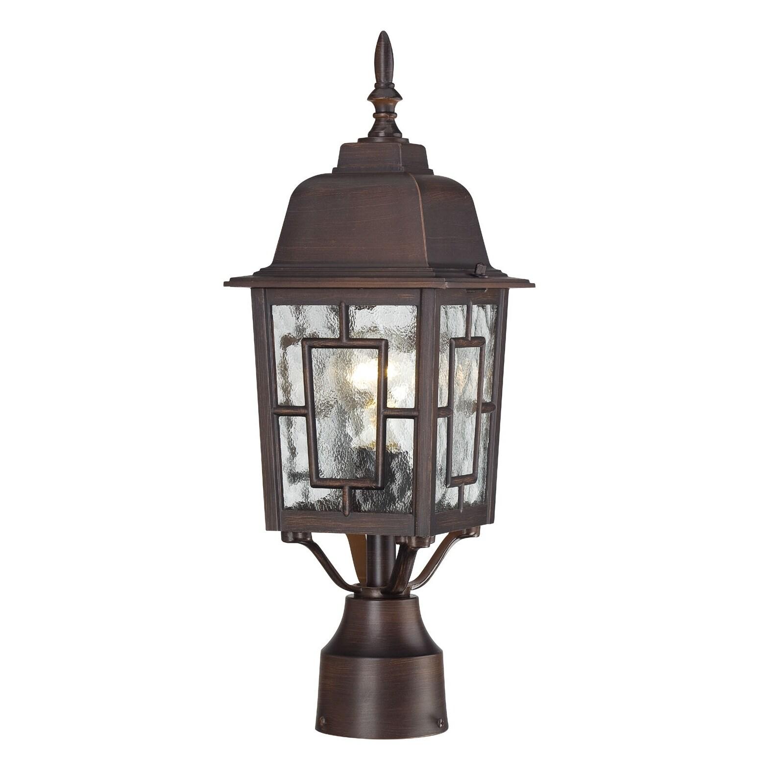 Nuvo Banyon 1-light Rustic Bronze 17-inch Post Fixture