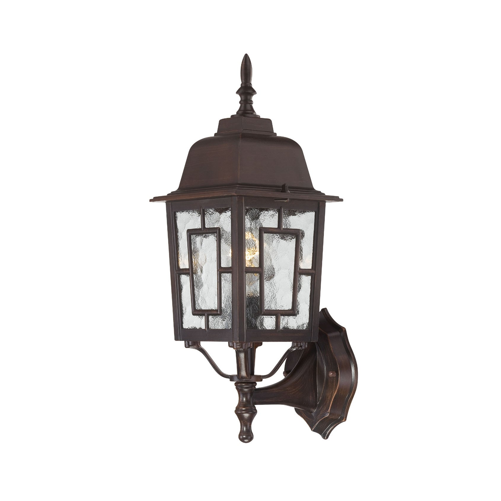 Rustic Bronze Wall Sconces : Nuvo Banyon 1-light Rustic Bronze 17-inch Wall Sconce - Free Shipping On Orders Over USD 45 ...