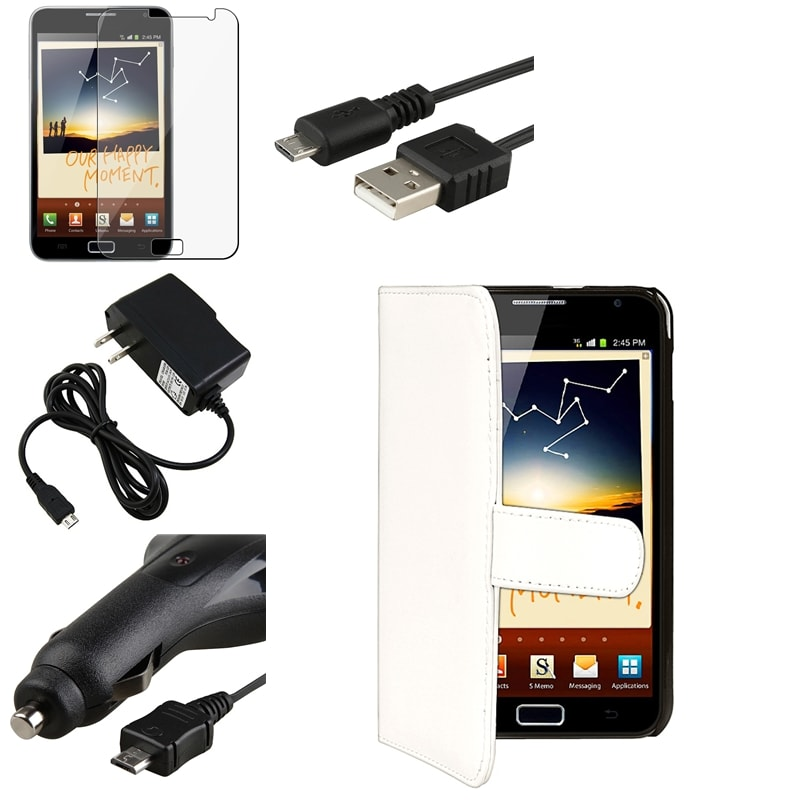 Modern Case/Screen Protector/Chargers/ Cable for Samsung© Galaxy Note N7000