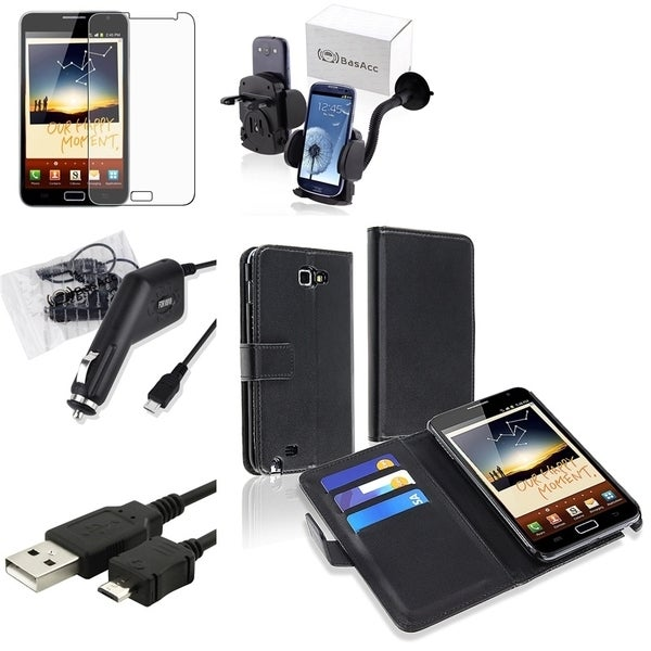 Case/ Screen Protector/ Charger/ Mount for Samsung? Galaxy Note N7000