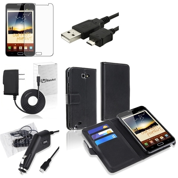 Case/Clear Screen Protector/Chargers/ Cable for Samsung© Galaxy Note N7000